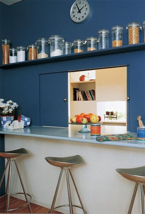 Serving hatches are making a comeback?! | 1 kitchen | Pinterest ...