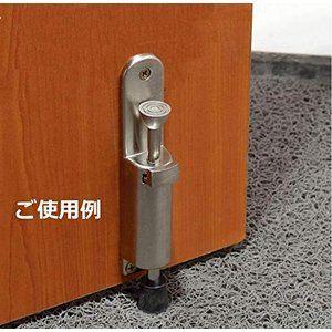 ドアストッパー 室内 ステンレス ワンタッチ スライド式 1点 ドア