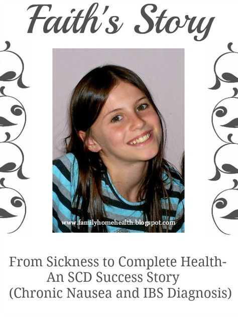 How one little girl overcame irritable bowel syndrome and constant nausea through the SCD diet.  Includes an adorable interview with the little girl!