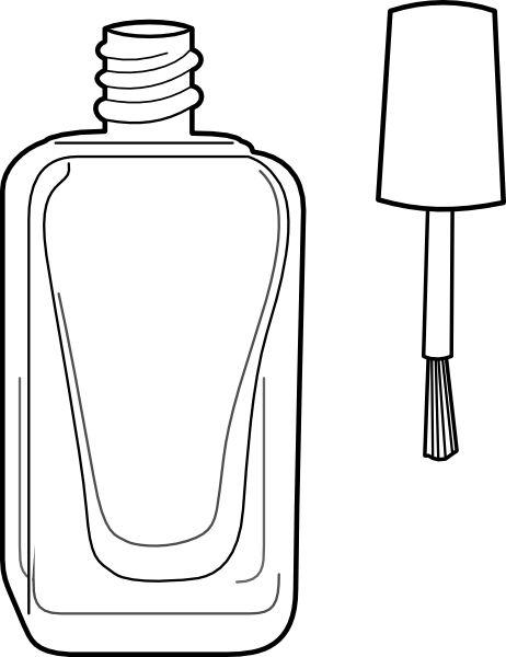 nail polish bottle drawing hession hairdressing Pure Acetone Nail Polish Remover nail polish bottle drawing