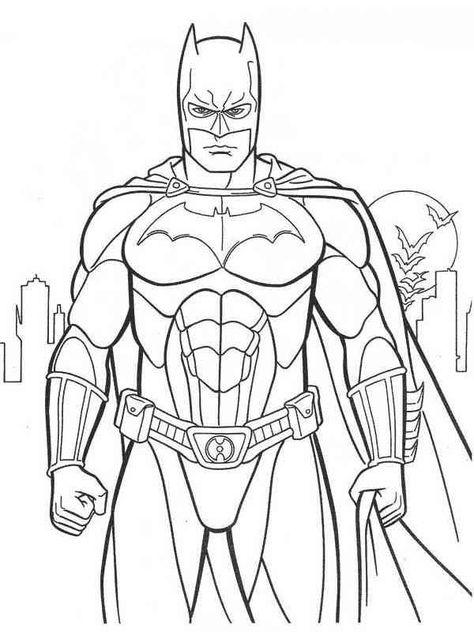 batman 9 ausmalbilder  superhelden malvorlagen