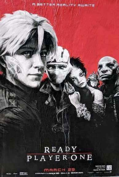 Lost Boys Ready Player One Poster Mash Up.  See all