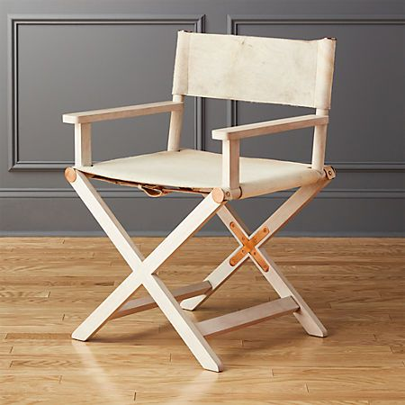 Curator White Directors Chair Reviews