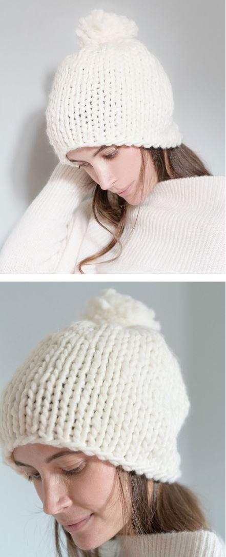Free Bulky Yarn Hat Patterns Fur Diesen Winter Zu Stricken Gratis Strickanle In 2020 Hakelmuster Mutze Kostenlose Strickmuster Hut Muster