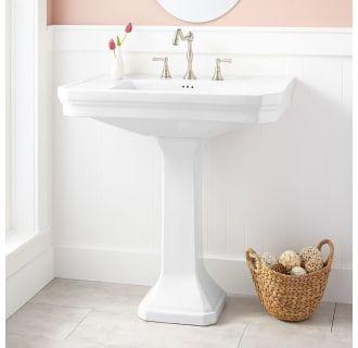 Signature Hardware 271357 In 2020 Pedestal Sink Bathroom Modern