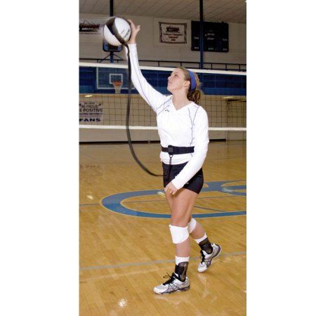 Tandem Sport Volleyball Pal Black Volleyball Training Volleyball Training Equipment Volleyball