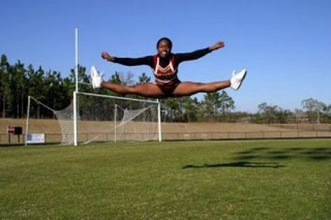 I used to have disgusting jumps that looked more like a spread eagle than anything. I barely had the flexibility to lift my legs up a foot off of the ground, and I would bend over mid-air to reach my hands to my feet. I was very awkward. This all...