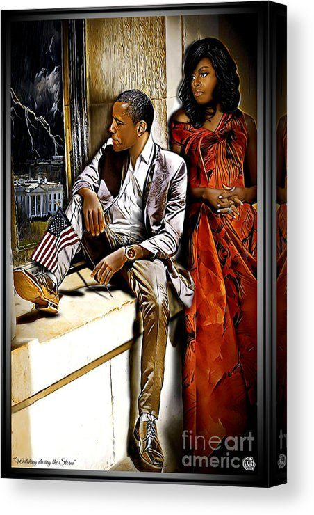 Show Me Art . President, Barack H. Obama and former First Lady Michelle L. Art Black Love, Black Couple Art, Black Girl Art, Black Couples, My Black Is Beautiful, Black Girl Magic, African American Artwork, African Art, African Beauty