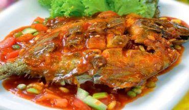 Resep Asam Pedas Ikan Bawal Resep Ikan Makanan Resep Ikan Bakar