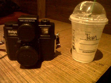 Holga + Starbucks