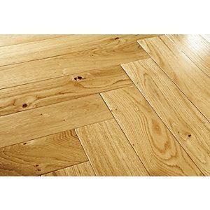 Wickes Heritage Oak Real Wood Top Layer Engineered Wood Flooring ...