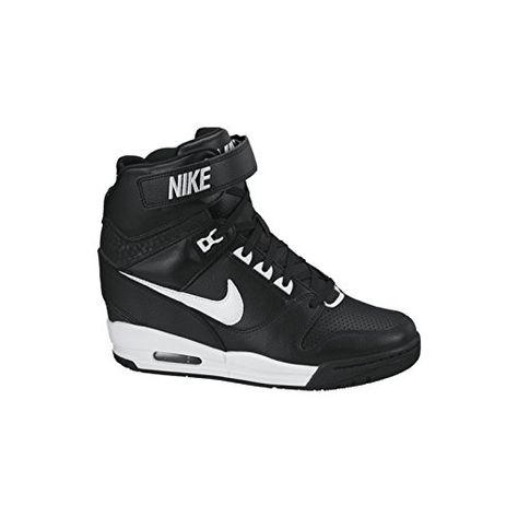 on feet images of get online get new Nike Air Revolution Sky Hi Womens Style: 599410-010 Size: 9 ...