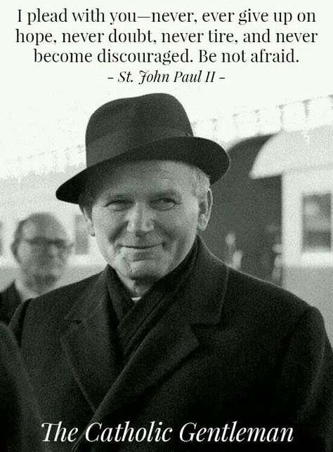 20 Images that Prove St. John Paul II was the Coolest Saint Ever  | The Catholic Gentleman