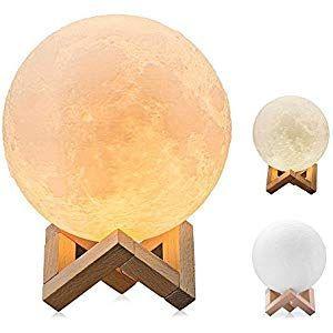 10cm Mondlampe Nachtlampe 3d Mondlampe Mondlicht Aled Licht Mondnachtlicht Lampe Beleuchtung 10cm Aled Beleuchtung Nachtlampen Mond Lampe Nachtlicht