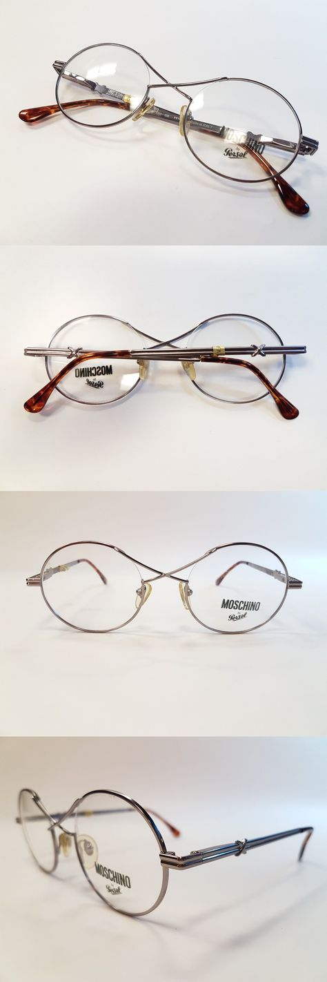 2190f6e1dbe45 Sunglasses 48559  Moschino By Persol Vintage Eyeglasses Mm534 90S Collection  Unique Rare New Nos -