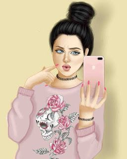 صور بنات كرتون كيوت انمى زينه Cute Girl Wallpaper Beautiful Girl Drawing Girly M