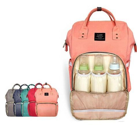 Large Capacity Baby Diaper Nappy Multifunctional Maternity Bag Travel Backpack