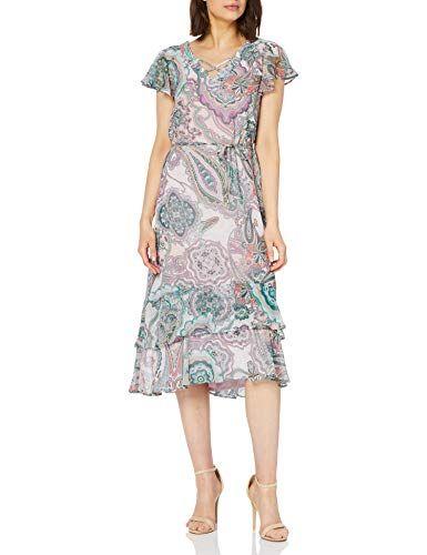Gerry Weber Women's 180036 38306 Dress Multicolour (Lila