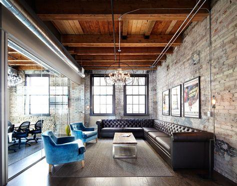 50 Most phenomenal industrial style living rooms Büros und Ideen - einrichtung im industriellen wohnstil ideen loftartiges ambiente