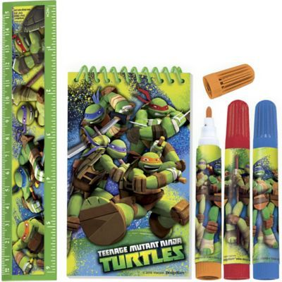 Shop For Teenage Mutant Ninja Turtles Stationery Set 5pc And Othe Stationery Set Teenage Mutant Ninja Turtles Party Favors Teenage Mutant Ninja Turtle Birthday