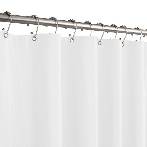 Maytex 8 Gauge 70 X71 Peva Shower Curtain Liner Pvc Shower