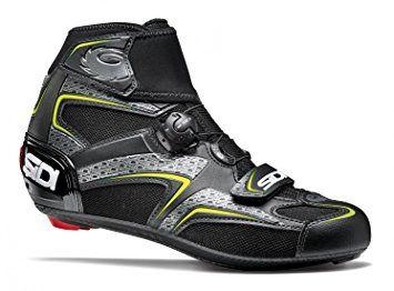 Sidi Zero Gore Black Yellow 44 Review Cycling Shoes Road Cycling Shoes Bike Shoes