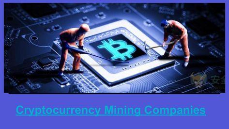 best cryptocurrency mining stocks