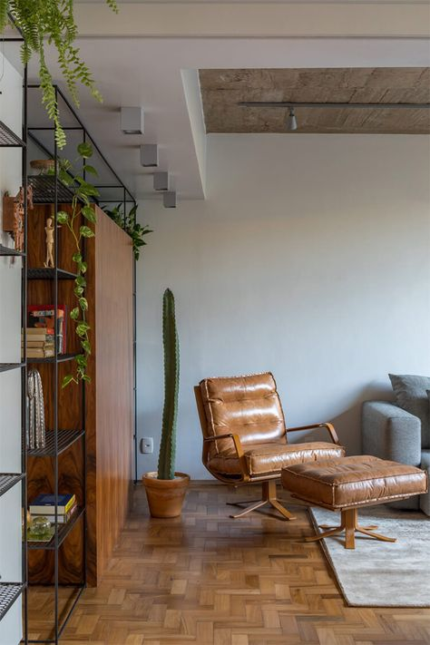 Um apartamento flexível, integrado e lindo de morrer - limaonagua
