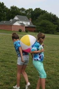 Outdoor recess games
