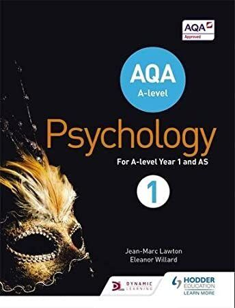 Free Read Aqa Psychology For A Level Book 1 Author Free Delivery