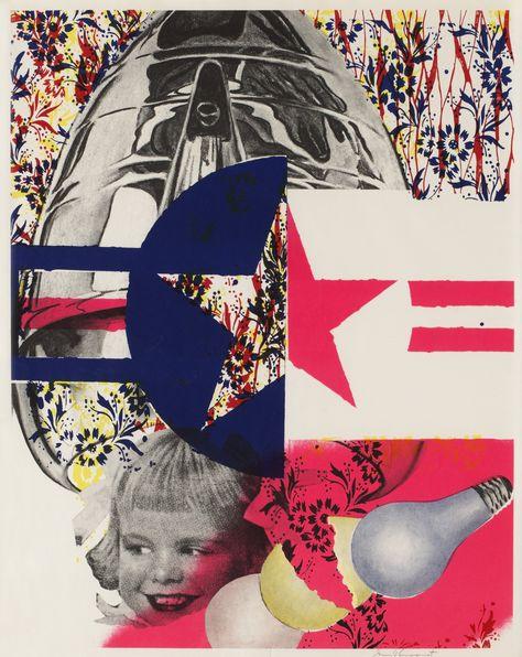 93fd9fce7f3e9 F-111 (Castelli Gallery poster) by James Rosenquist (1965) | Pop Art ...