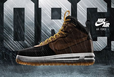 News About The Nike Lunar Force 1 Duckboot Black Tan