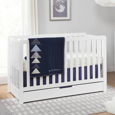 Colby 4 In 1 Convertible Crib With Storage Cribs Convertible