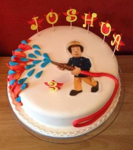 63 Ideas Cake For Men Truck 3rd Birthday Fireman Sam Birthday Cake Firefighter Birthday Cakes Fireman Sam Cake