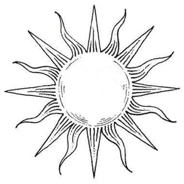 Sun Tattoo - 250+ Picture Ideas
