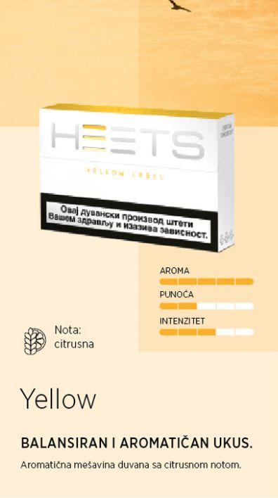 IQOS Heets Yellow by Marlboro - Prazne cigarete :: Cartel