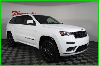 Ebay 2018 Jeep Grand Cherokee Overland High Altitude New 2018