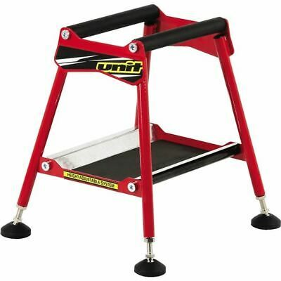 Advertisement Ebay Red Unit Motorcycle Products A2210 Adjustable Mx Stand In 2020 Bike Stand The Unit Racing