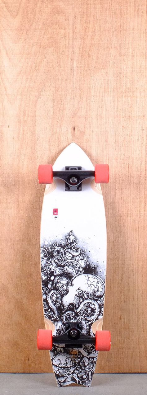 """Arbor 31"""" GB Sizzler Bamboo Longboard Complete"""