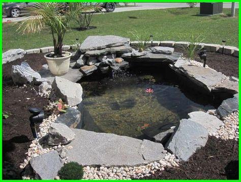 10 desain kolam hias sederhana depan rumah di 2020 | kolam