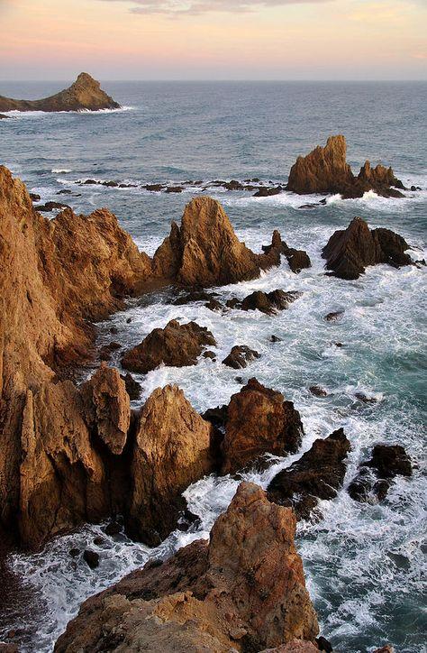 ✮ Rocks at sea in Cabo de Gato  Almeria - Spain