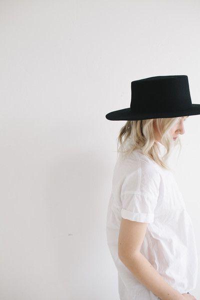 The Dahlia is a super stiff women s rancher felt hat. Often referred to as  a women s