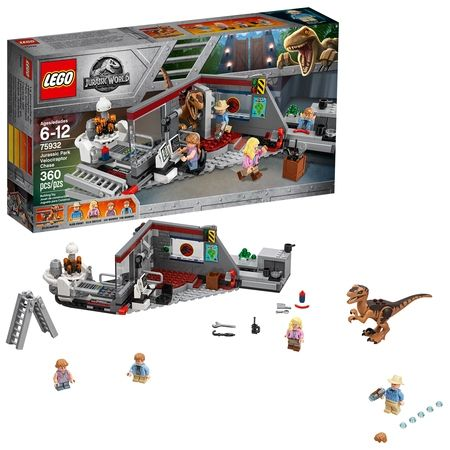 Lego Jurassic World Jurassic Park Velociraptor Chase 75932 Walmart Com In 2020 Lego Jurassic Lego Jurassic World Lego Jurassic Park