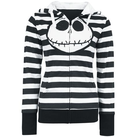 The Nightmare Before Christmas PUMKIN King Donna Hoodie Nero