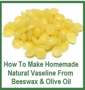 How To Make Homemade Vaseline With Natural Ingredients~~~~~ Wow this is so much better for our skin than petroleum products! This really is easy,beewax can be ordered online or some craft stores have it.