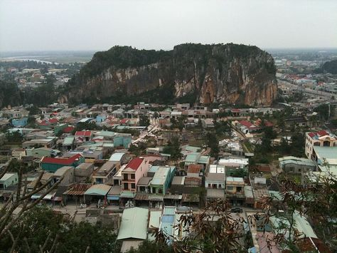 Marble Mountains, Da Nang, Vietnam.  Looks similar to 1966 when i was there