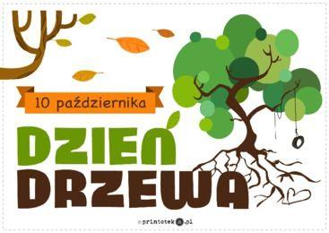 Dzień Drzewa - Printoteka.pl | Teacher inspiration, Education, Kindergarden