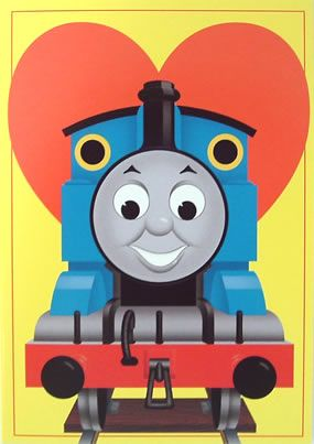 Thomas The Tank Engine Valentines 8 Cards Plus Envelopes At Trains Galore 6 49 We Had These Last Year The Kids Cards Thomas And Friends Train Valentine