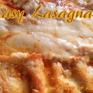 Easy Beef Lasagna Featuring Ragu 2 Lb 13 Oz Jar