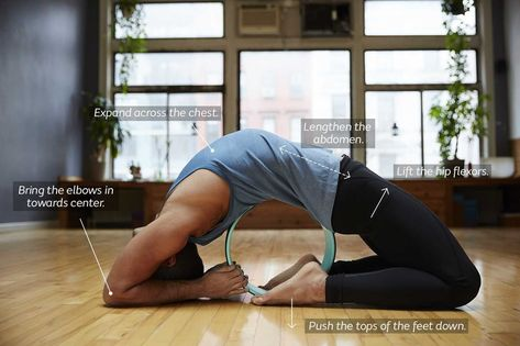 The Dharma Yoga Wheel is an innovative yoga prop that can help transform  your back bending practice 05a3da4c00a